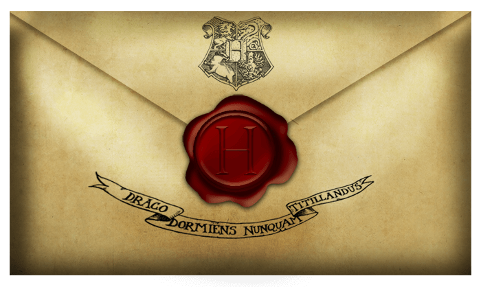 Your Hogwarts letter has arrived!