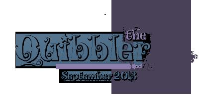 Quibbler - August 2013!