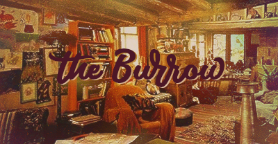 The Burrow's cozy interior waiting for you to come in!